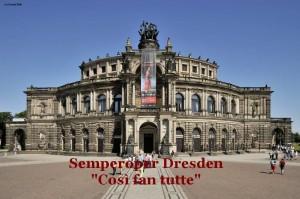 Così fan tutte @ Semperoper Dresden   Dresden   Sachsen   Deutschland