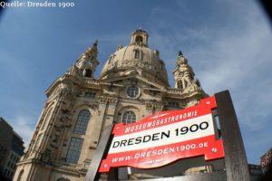 im DRESDEN 1900, direkt an der Frauenkirche!