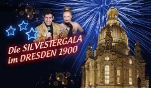 Silvestergala  im Dresden 1900