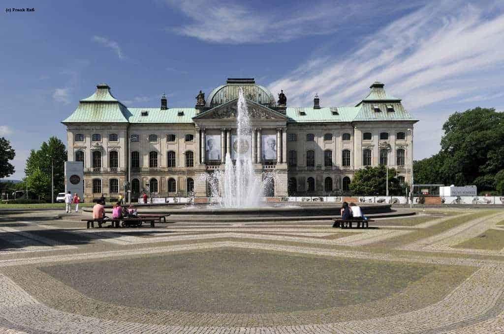 Japanisches Palais am Dresdner Elbufer