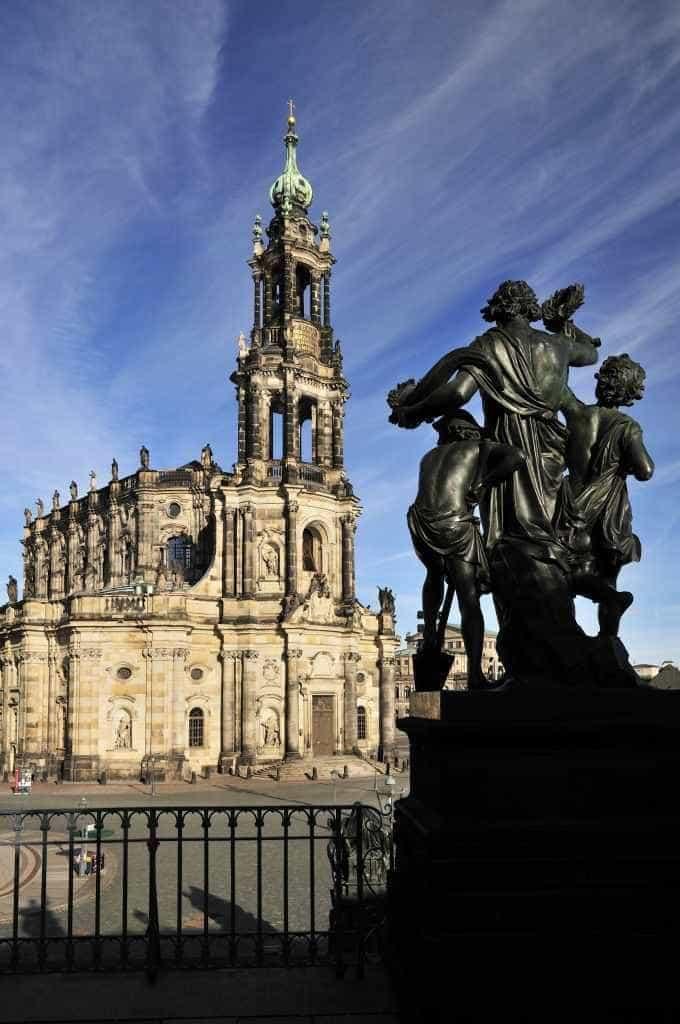 Katholische Dresdner Kathedrale