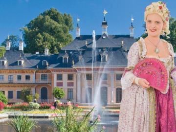 Historischer Erlebnisrundgang Führung Schloßpark Pillnitz