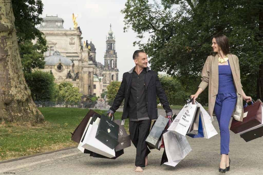 Shoppen in Dresden