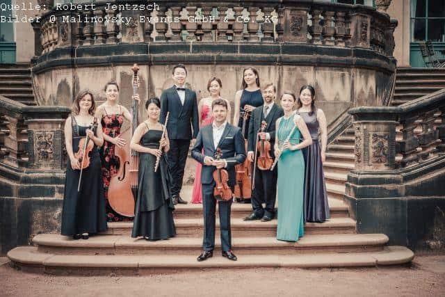 Mitglieder des Dresdner Residenz Orchester