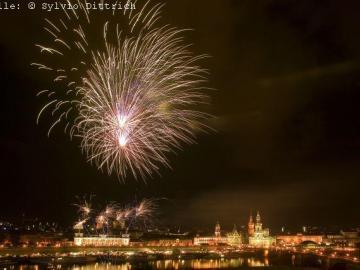 Silvester in Dresden erleben