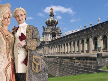 "Historischer Erlebnisrundgang Dresden ""Erlebnisrundgang durch Dresden im historischen Gewand"