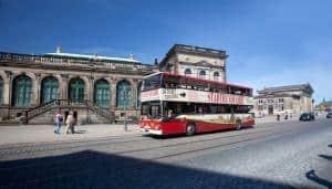 Stadtrundfahrt durch Dresden