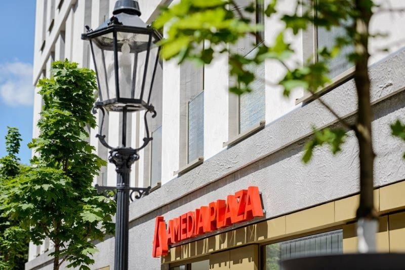 Amedia Plaza Dresden Außenansicht