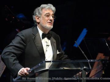 Plácido Domingo als Nabucco in der Semperoper Dresden