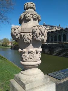 Dresden mit Semperoper und Grünem Gewölbe