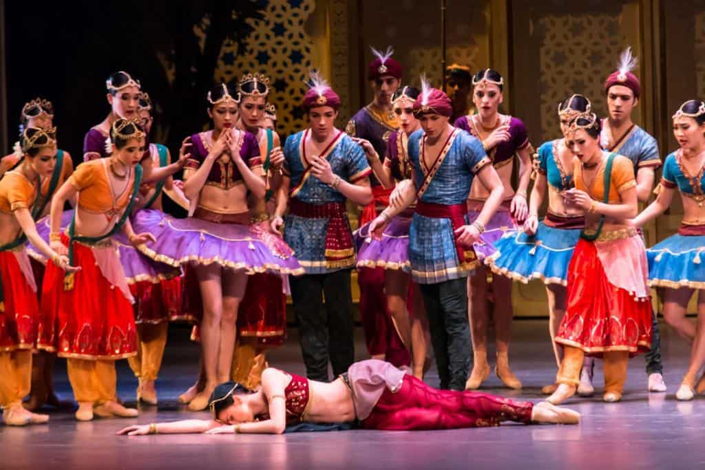 La Bayadere – in der Semperoper Dresden