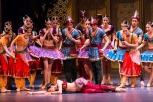la Bayadere Semperoper