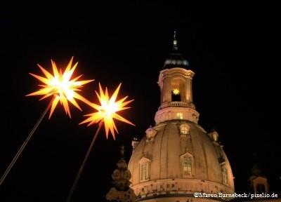 Frauenkirche Dresden im Advent