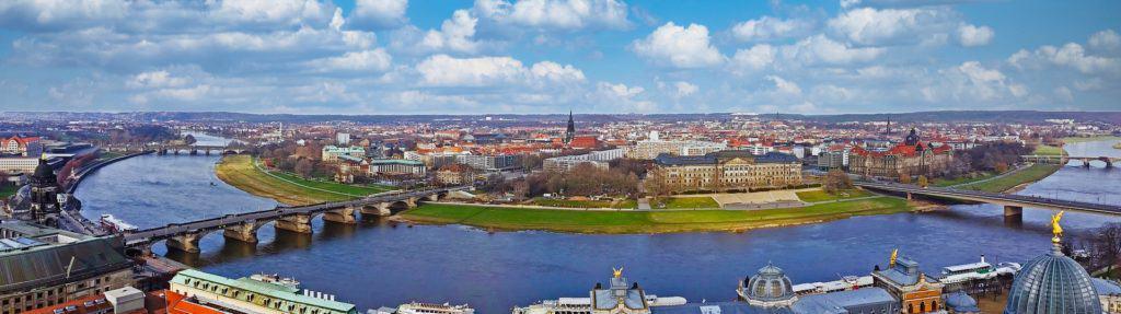 Dresden Elbe Panorama